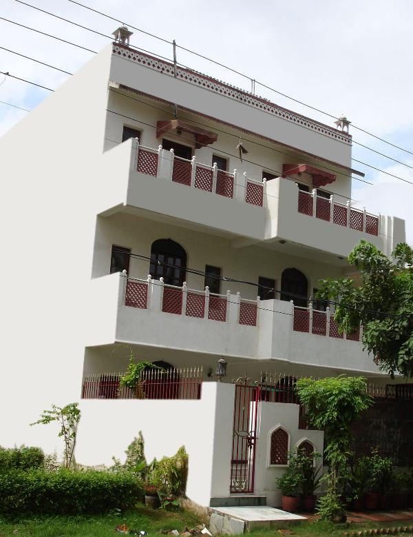 house elevation - Kuruhaveli: a bed and breakfast home - Gurgaon - rentals
