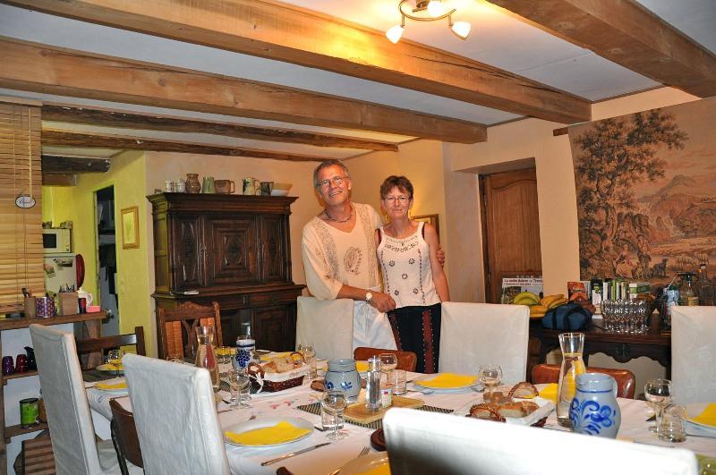 Your hosts Guy & Barbara - Lepadou-Bas - Saint-Chély-d'Aubrac - rentals
