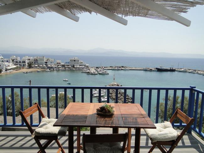 New Apartment with excellent sea view - Image 1 - Paros - rentals