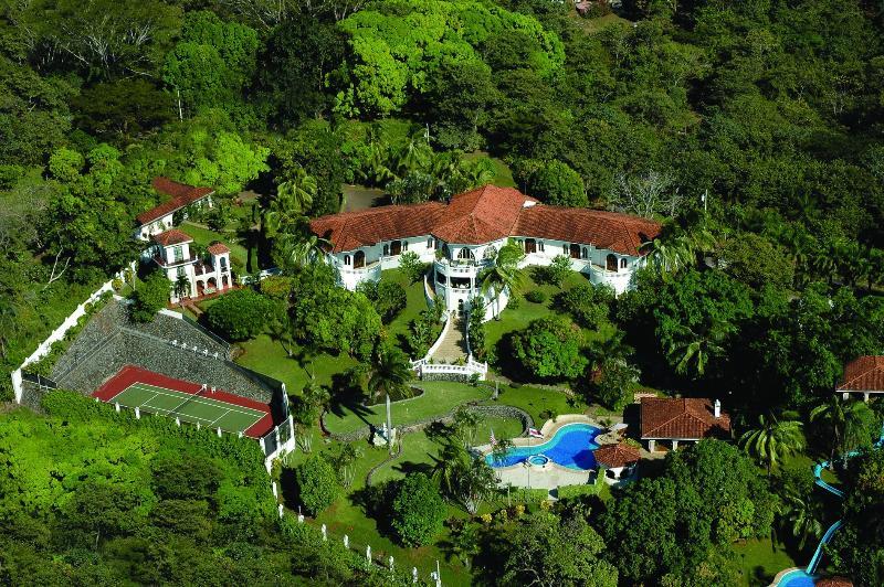 Aerial Property - OFFICIAL SITE of El Castillo de Esparza - Esparza - rentals