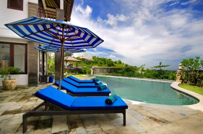 View from the Pool - Villa Bali Blue- Stunning Pool & Amazing Views - Jimbaran - rentals