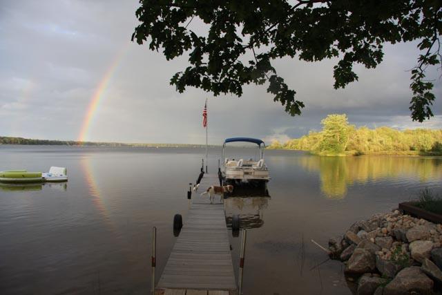 Rainbow - Lake front Cottage on Paradise Lake - Carp Lake - rentals