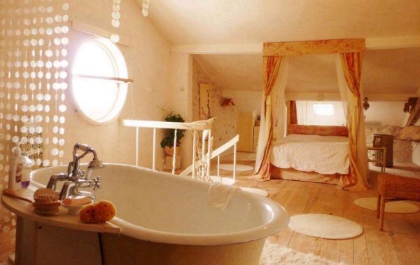 Romantic Candle lit bath - La croix farmhouse Dordogne - Bouteilles-Saint-Sebastien - rentals