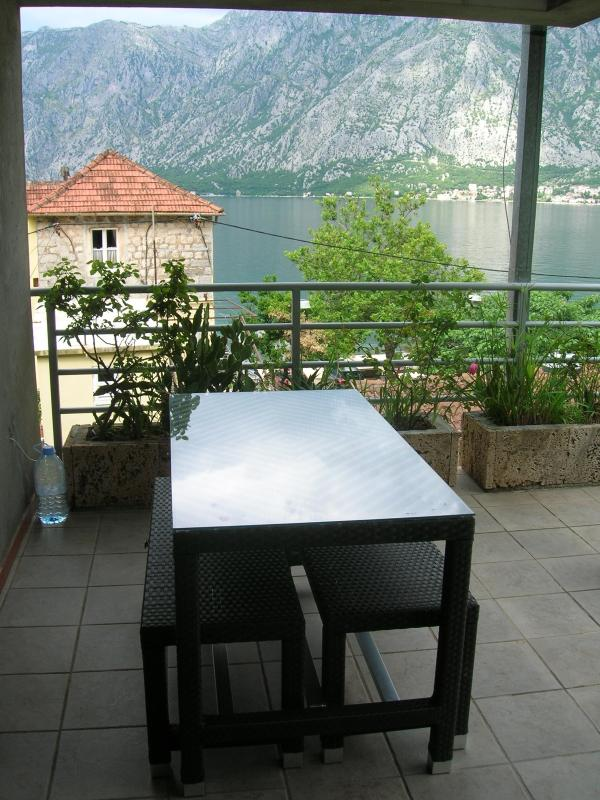 Terrace - House with beautiful seaview - Kotor - rentals