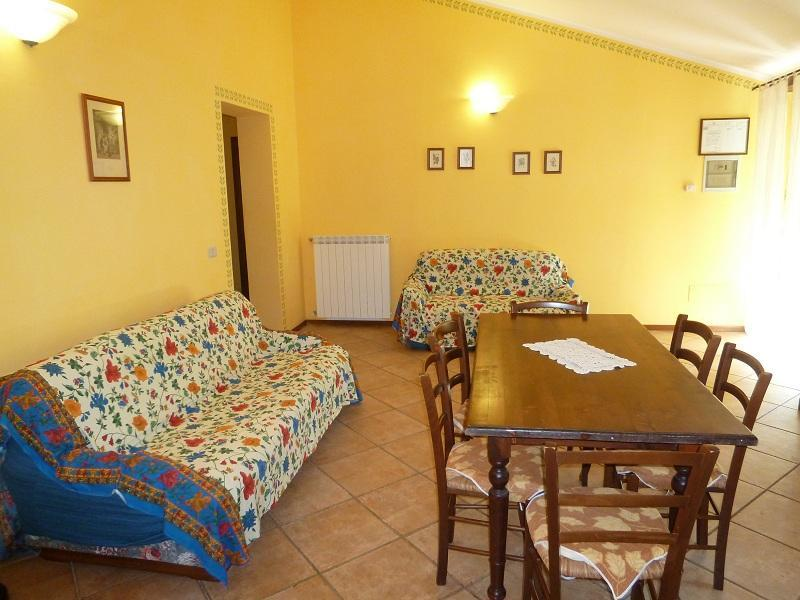 living room - Apartment 7 beds in the  Umbrian countryside - Bevagna - rentals