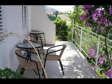 A6(4): terrace - 7774  A6(4) - Baska Voda - Baska Voda - rentals