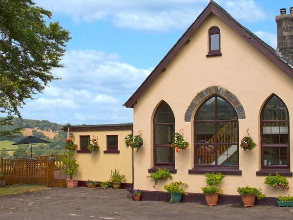 THE OLD SCHOOL, hot tub, pet-friendly school conversion with country views, ideal touring near Lampeter Ref 24318 - Image 1 - Lampeter - rentals