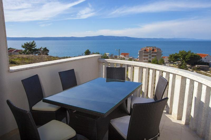 panorama view - Apartments Filipovic  A2 - Podgora - rentals