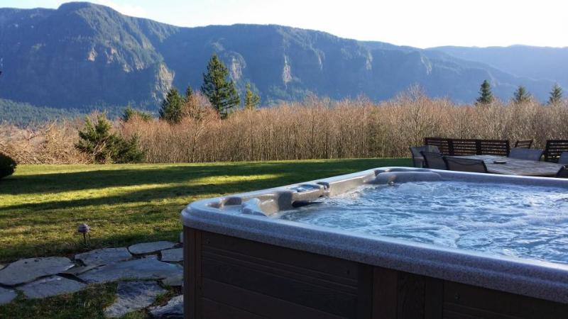 Private hot tub and outdoor firepit - Image 1 - Stevenson - rentals