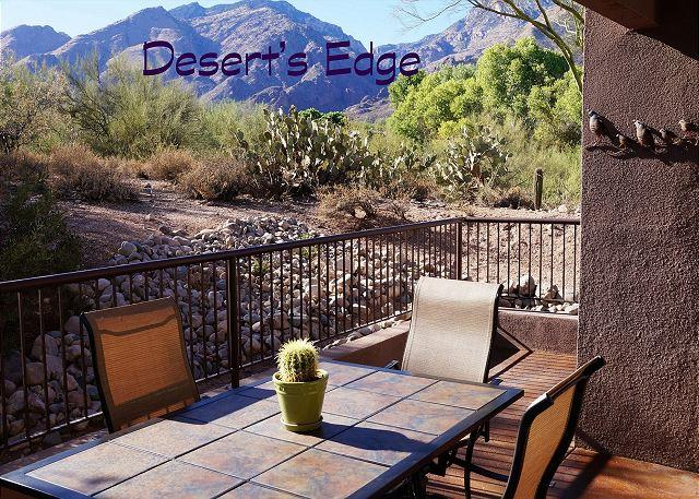 1st Floor  3 Bedroom 2 Bath with Extended Patio and Great Mountain Views - Image 1 - Tucson - rentals