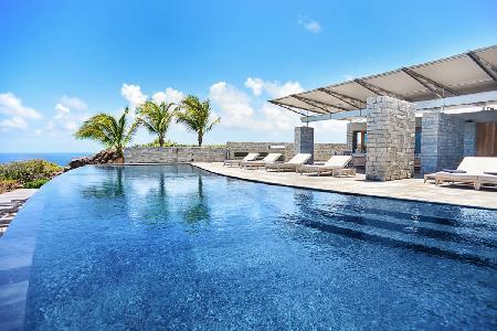 Captivating La Danse des Etoiles Villa with solar heated pool and al fresco dining - Image 1 - Pointe Milou - rentals