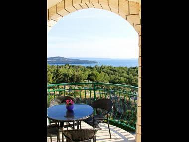 A2(2+3): terrace - 7887  A2(2+3) - Seget Donji - Seget Donji - rentals