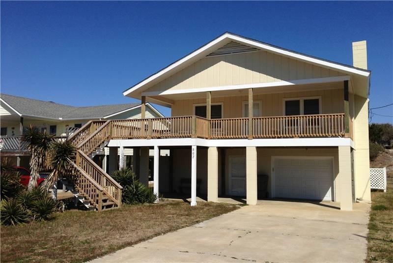 Tyndall Cottage - 802 Ocean Ridge - Image 1 - Atlantic Beach - rentals