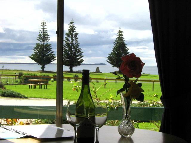 Romantic Sea Elephant Bay viewed from the cottage - Wattlebird Cottage 2B/R - King Island - rentals