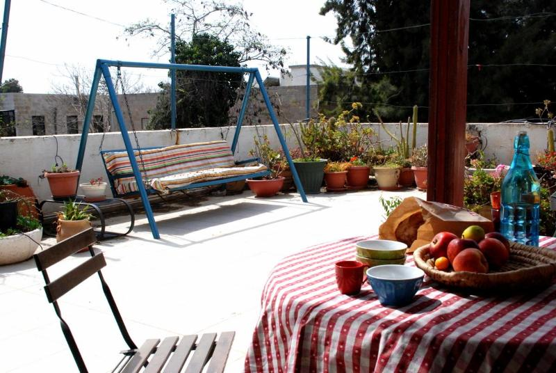 Large roof terrace - A Rooftop in Baka, Jerusalem - Jerusalem - rentals
