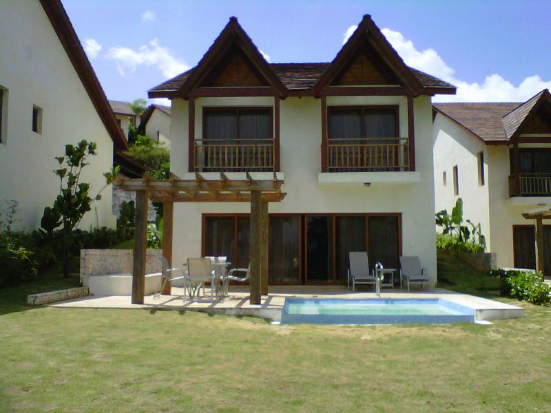 View of the Villa from garden - Ocean View Relaxing Family Vacation Villa @ Samana - Santa Barbara de Samana - rentals