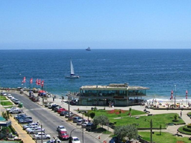 VIEW from the APARTMENT - Holidays USD $140 p/night Viña  Stunning Sea Views - Vina del Mar - rentals