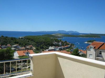 LUXURY APARTMENT IN VILLA , HVAR TOWN, WITH SEA VIEW FOR 6+1 P - Image 1 - Hvar - rentals
