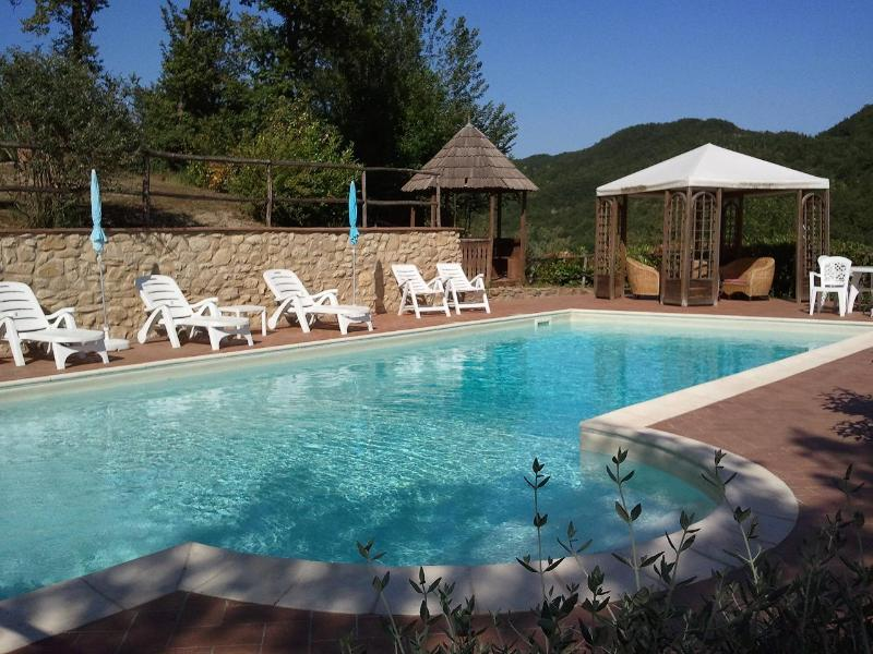Pool view - Borghetto di Pedana - Umbertide - rentals