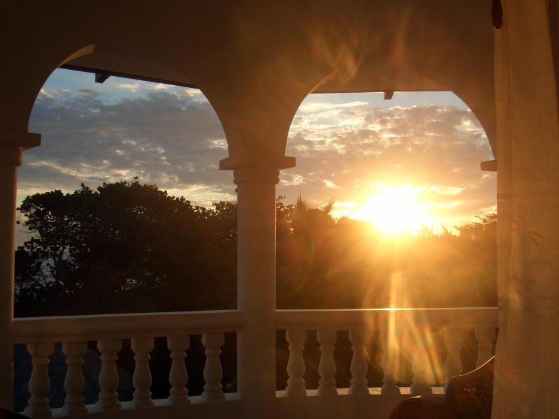 Sunset view - Cabarete / Sosua Corner Penthouse Hideaway Beach Unit #11 - Cabarete - rentals