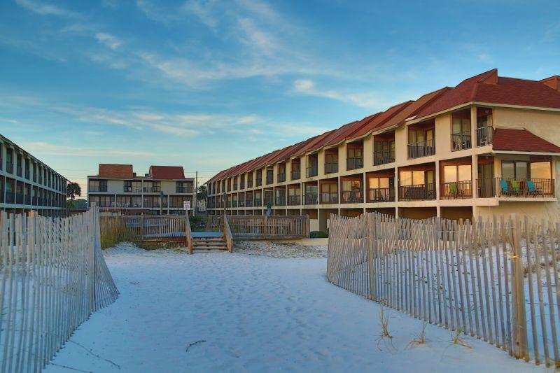 Gulfside Townhomes from the beach - Gulfside Townhomes 30- - Gulf Shores - rentals