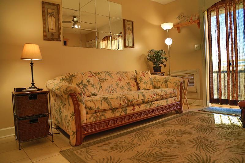 Sofa - Sugar Beach 165 -Gulf View - Orange Beach - rentals