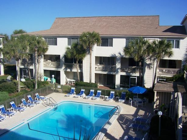 One of the Two heates Pools - Four Winds Condos- Beautiful Oceanfront Property - Saint Augustine - rentals