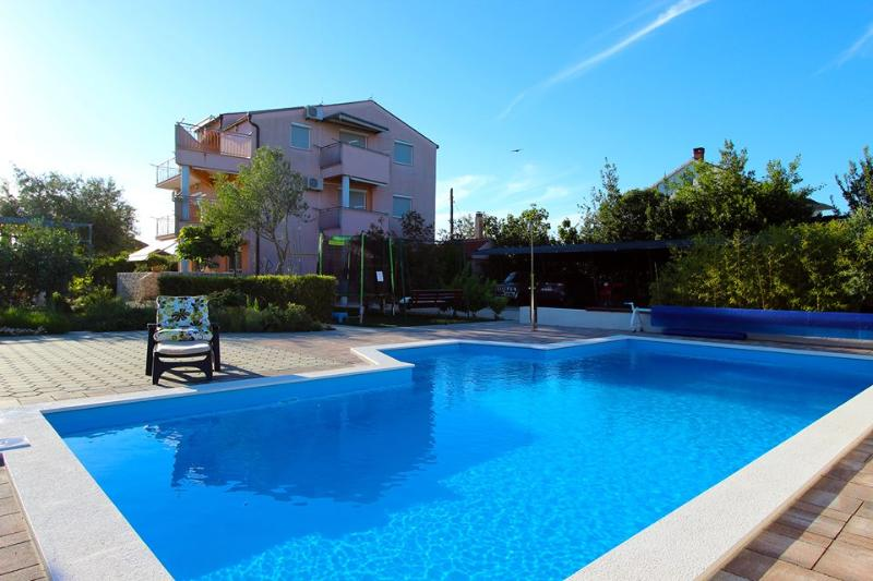 Swimming pool - Apartments Zaton, tipe C - Zaton (Zadar) - rentals