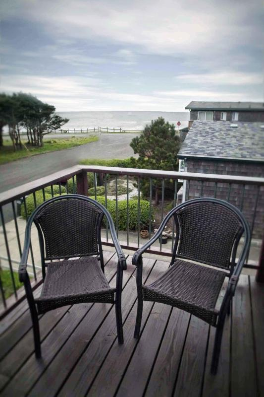 View From the Deck - Modern Duplex with Ocean View! FREE NIGHT - Yachats - rentals