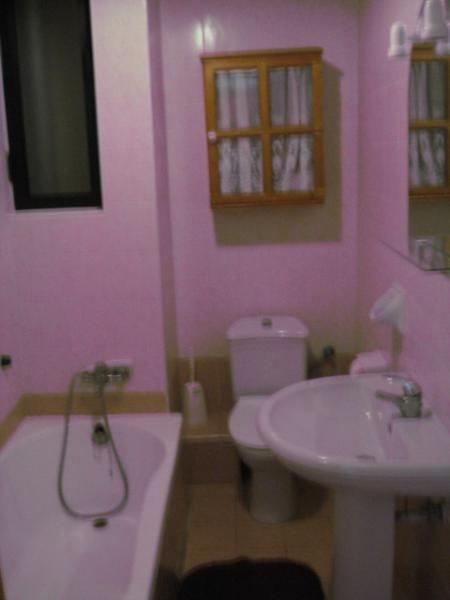 Main bathroom - Two bedroomed fully furnished apartment - Il Gzira - rentals