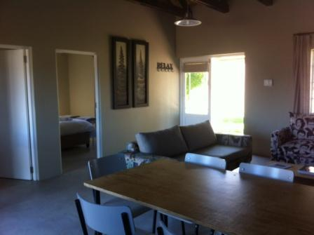 kitchen/living area - Saronsberg Vineyard Cottages - Tulbagh - rentals