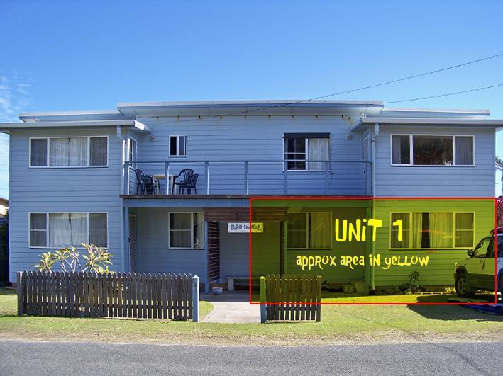 Beachcombers Unit 1 - Beachcombers Unit 1 - Self catering - Linen incl. - Wooli - rentals