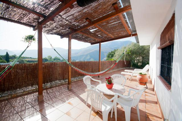 Terrace, Terraza entrada 1 - Cortijo La Escañuela, Órgiva, Andalusia, Spain - Orgiva - rentals