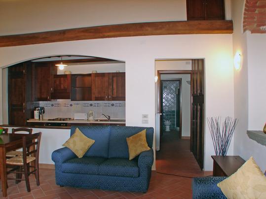 Vecchio Frantoio  traditional Tuscan Apartment - Image 1 - Cortona - rentals
