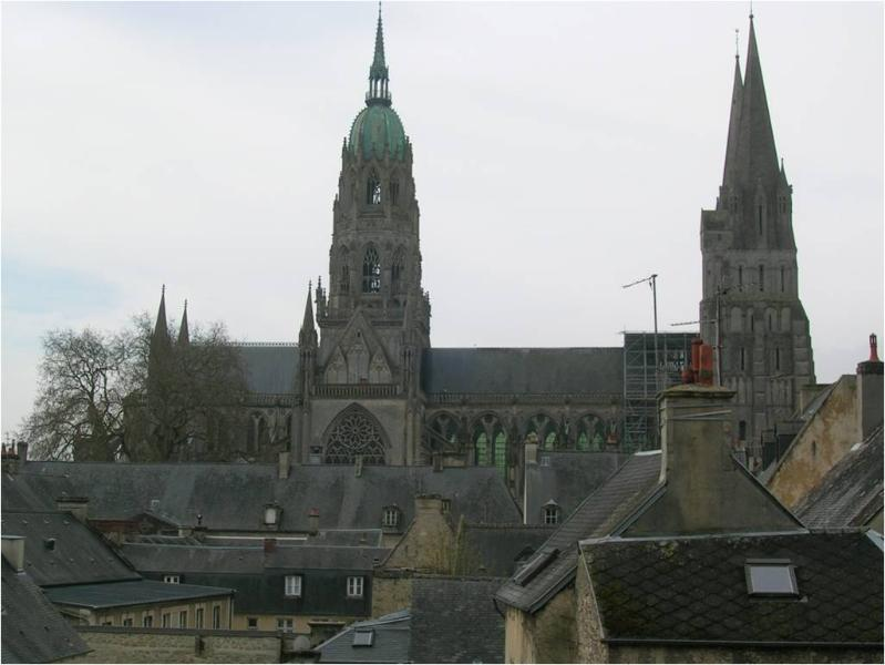 View from living room - Notre-Dame - Bayeux - rentals