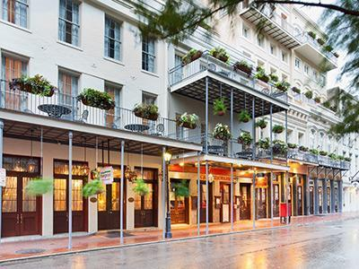 Front Entrance from Decatur - New Orleans French Quarter - New Orleans - rentals