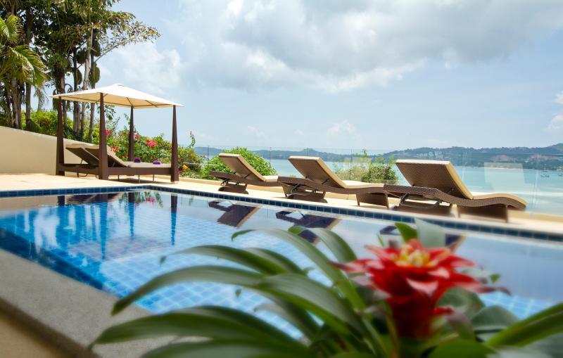 Oceans Eleven Pool & Terrace - Oceans Eleven, Stunning Beachside Villa, Bophut. - Bophut - rentals