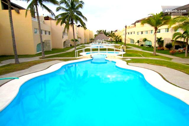 Fully Furnished 3 Bed 3 Bath Condo Next to La Isla - Image 1 - Acapulco - rentals