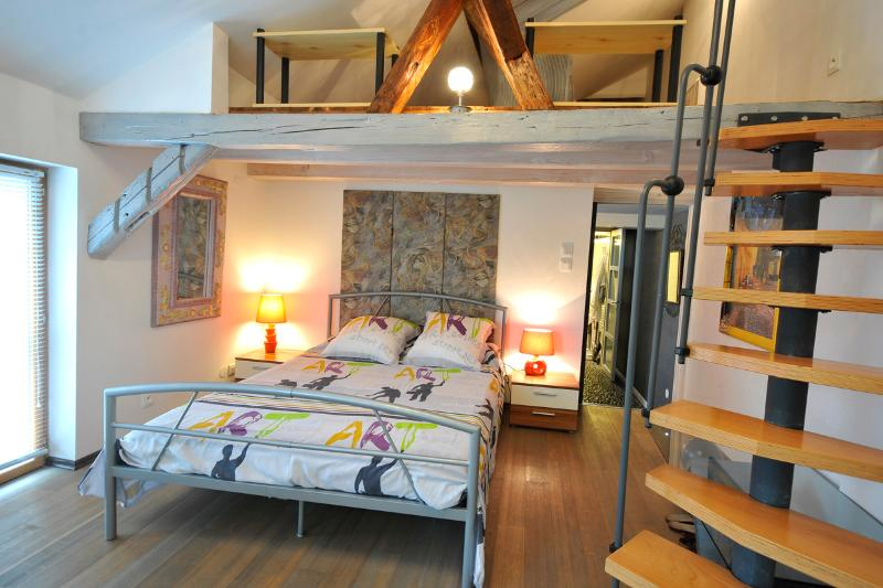 The Morells - Bedroom 1 - The MORELLS in the heart of Alsace - for 4 to 6 people - Erstein - rentals