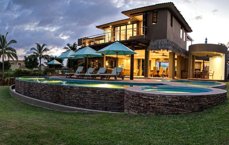 Panoramic view of Villa Lunada - Villa Lunada Estate Home in Punta Mita - Punta de Mita - rentals