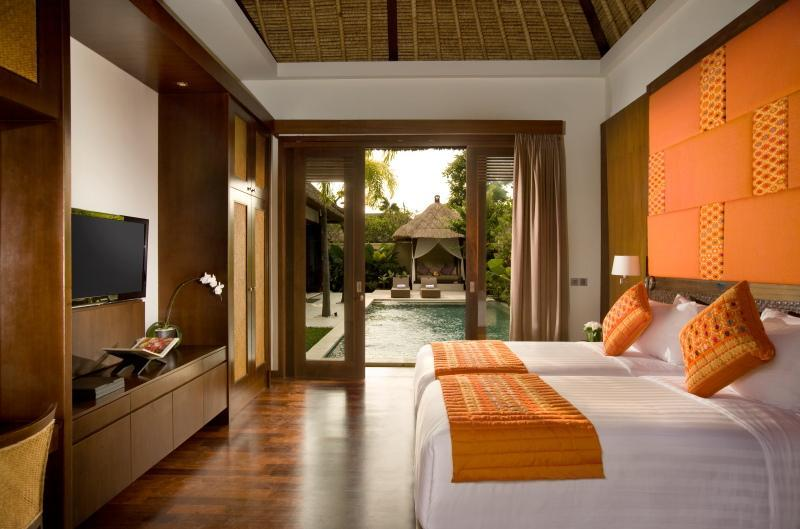Luxury guest room twin bed - Luxury 3 Bedroom Villa with private pool in Sanur - Sanur - rentals