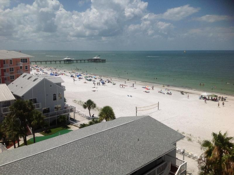Taken from lanai - Penthouse*OnTheBeach*NorthEnd*TotallyRenovated - Fort Myers Beach - rentals