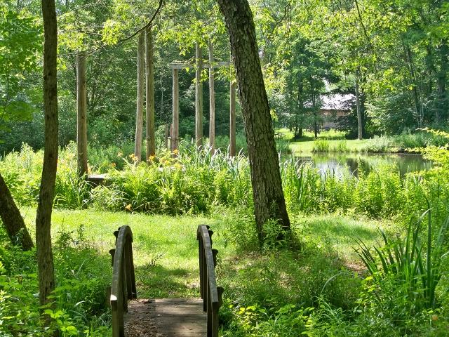 Pond - EvenSong Dell Guest House and Retreat House - Otego - rentals