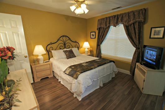 "Master Bedroom - Amazing, New Condo Near ""The Strip"" -Sleeps 8- - Branson - rentals"