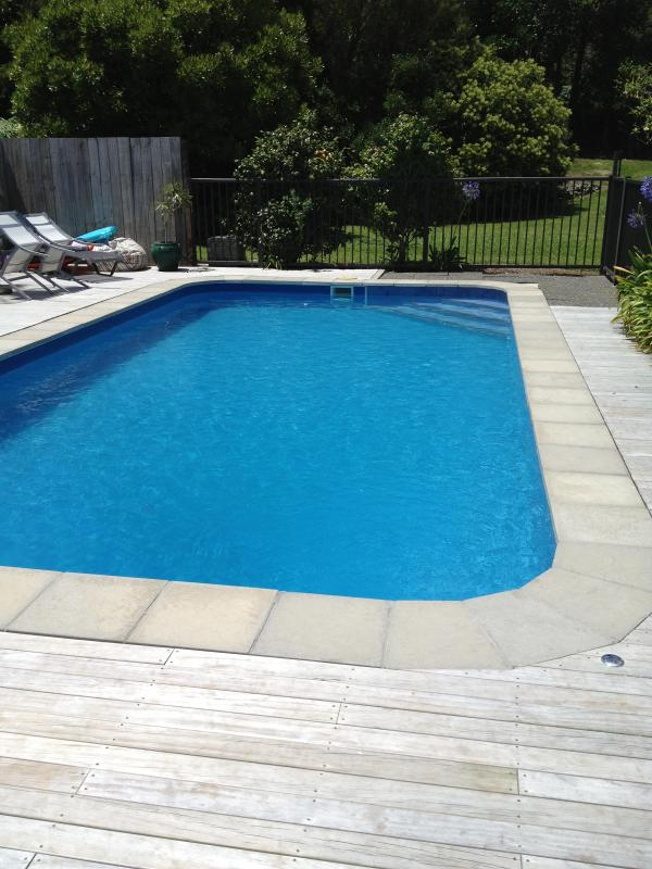 Outdoor Pool, sole use for guests - Mangawhai Sweetwaters Holiday Home - Mangawhai - rentals