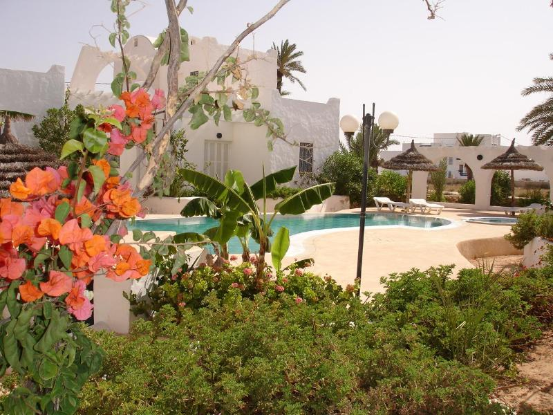 Terrace view - Oxala House: Responsible Tourism is for now... - Houmt Souk - rentals