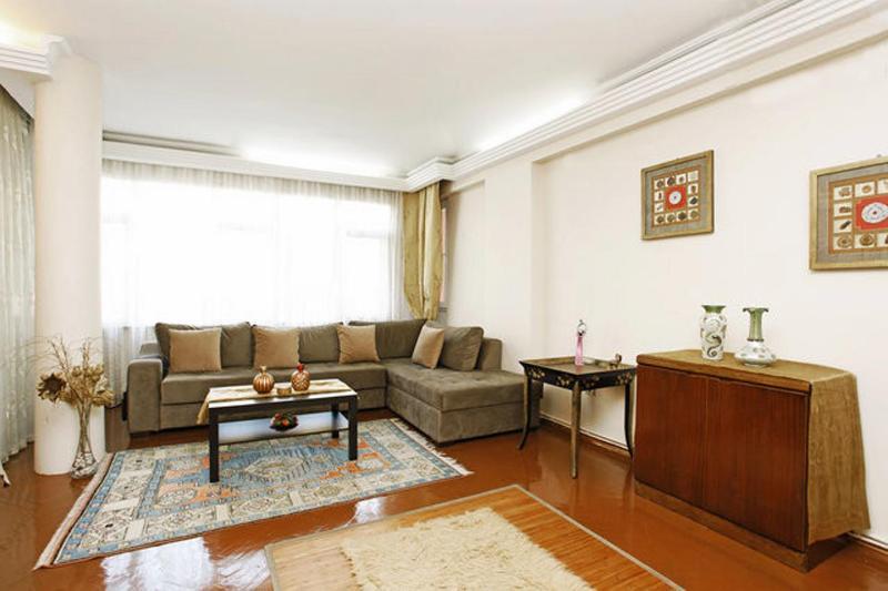 living room - Istanbul 3+1  luxury  140 m2 (metro 50 meter) - Istanbul - rentals
