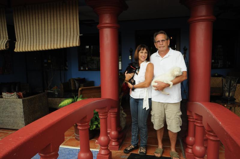 Steve and Rita, your hosts - Casa Bella Rita Bed & Breakfast - San Jose - rentals