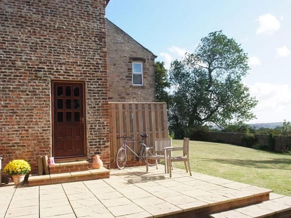 Riding Cottage Patio and Garden a real sun spot - Riding Farm Cottage - 4 Star Gold Cottage near Beamish - Beamish - rentals