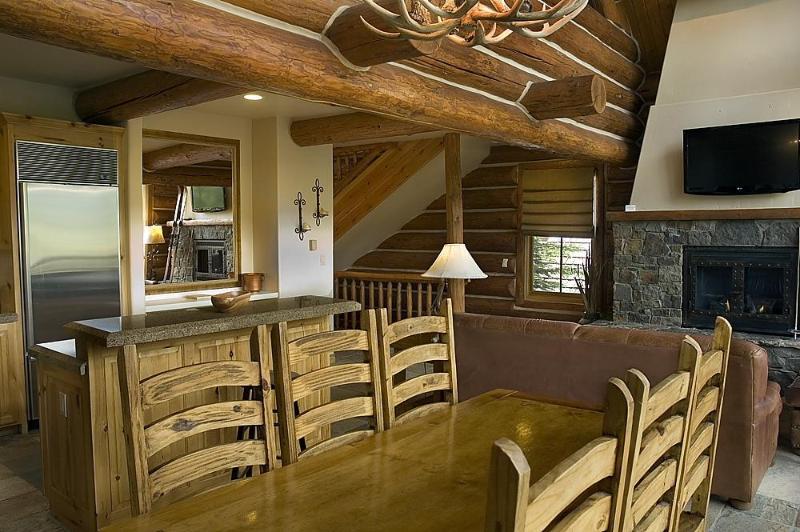 Dining Area - Luxury 4 bedroom Cabin - Telluride - rentals